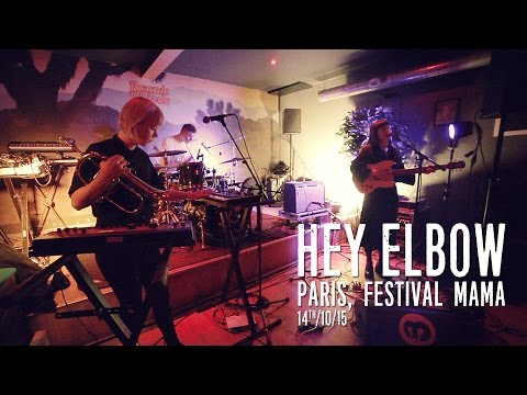 Hey Elbow live in Paris, festival Mama 14th/10/15