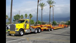 Performance Transport Peterbilt 379 With 9-Axle Murray Heavy Haul Trailer