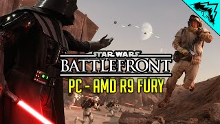 star wars battlefront pc amd r9 fury graphics card amdradeon eastarwars