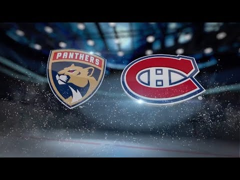 Florida Panthers vs Montreal Canadiens - October 24, 2017 | Game Highlights | NHL 2017/18 Обзор