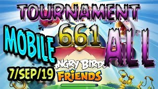 angry Birds Friends All Levels MOBILE Tournament 716 Highscore POWER-UP walkthrough #AngryBirds