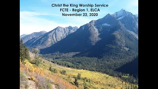 Region 1 Worship for Christ the King - First Call Theological Education - 11/22/2020