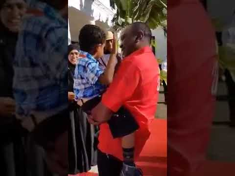 Meet 6-year-old Omar Mohammed who Had A State House Tour With Uhuru Kenyatta
