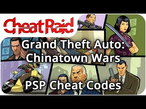 Grand Theft Auto: Chinatown Wars Cheat Codes | PSP