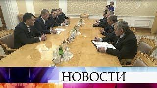С.Лавров обсудил с врио главы Астраханской области сотрудничество государств Прикаспийского региона.