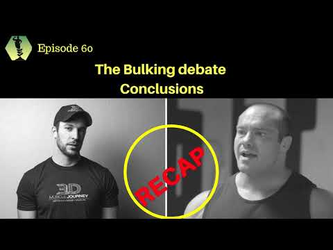 SSD Podcast Ep.60: Conclusions and recap of the Bulking Debate