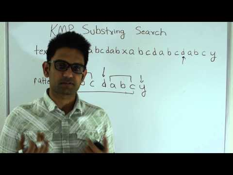 Knuth–Morris–Pratt(KMP) Pattern Matching(Substring search)
