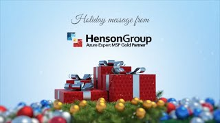 Happy Holiday's from Henson Group