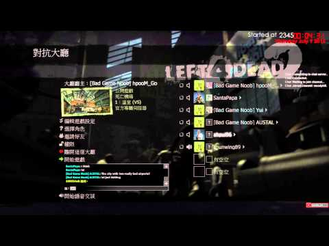 09/7 Woody from Hong Kong: PC - L4D2 with Austal and Yui Part 1