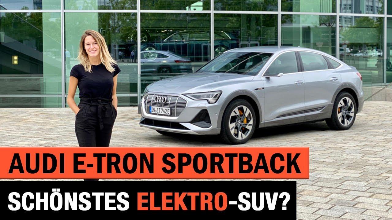 Audi e-tron Sportback 🔋🔌Schönstes Elektro-SUV?! Review | Test | Exterieur | Interieur | Coupé 2020