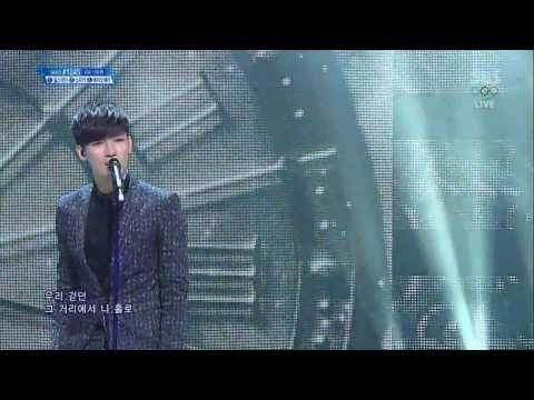 140209 Roh Jihoon  A Song For You Comeback Stage