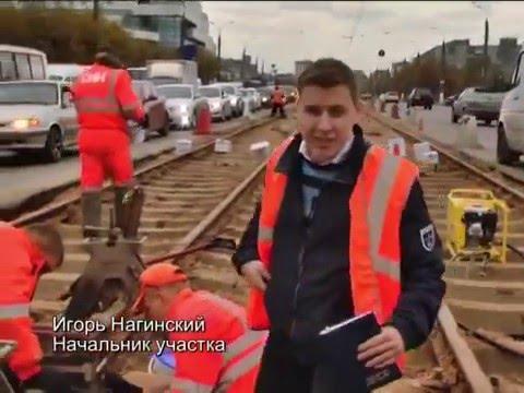 Алюминотермитная сварка рельсов - репортаж Тверь.TV
