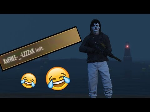 Tryhard RAGE QUITS On GTA 5 Online!
