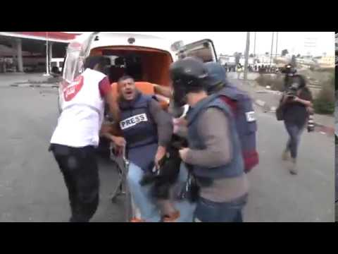 Israeli violations against journalists in Palestine