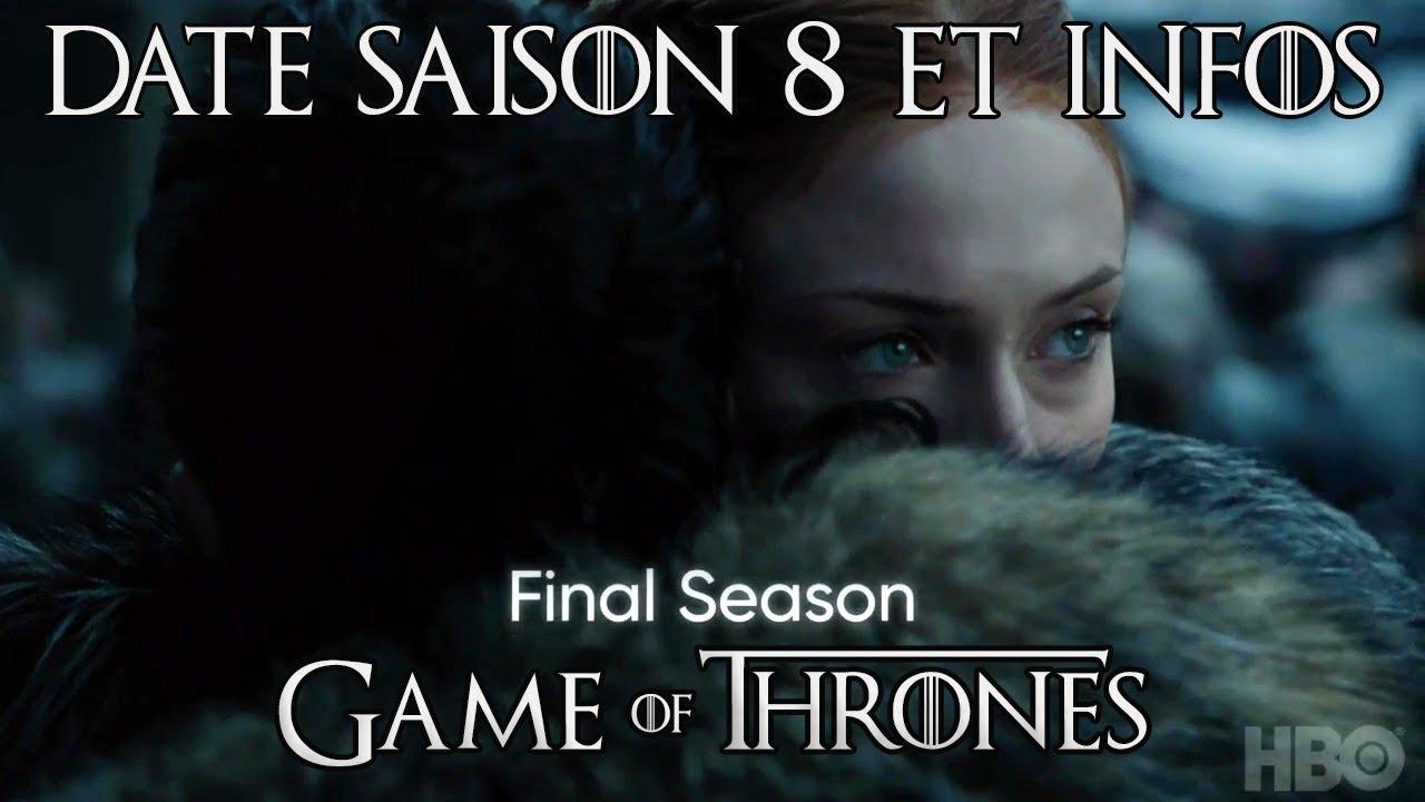 Game Of Thrones Saison 8 Date Premier Extrait Et Théories Youtube