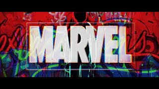 Comic Glitch Spiderman into the spider-verse intro Ae