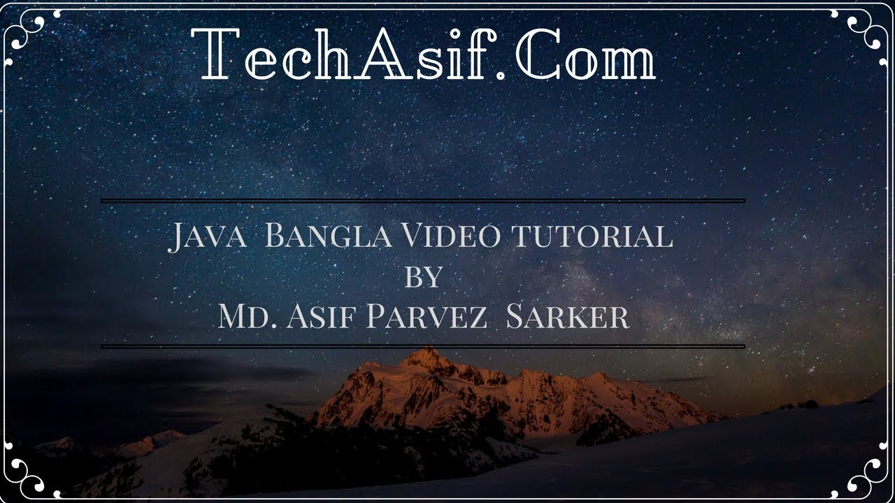 Java bangla tutorials part 13 what is literal of java and integer java bangla tutorials part 13 what is literal of java and integer literals in bangla baditri Choice Image
