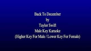 Karaoke taylor swift - back to december ...