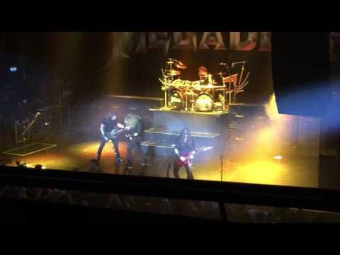 Megadeth Holy wars live @Sentrum scene, Oslo, Norway 1 August 2017