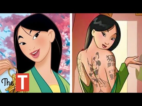 Disney Princesses Reimagined As Modern Day Bad Girls