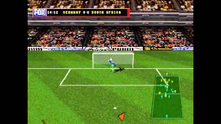 FOX Sports Soccer 99 ... (PS1) 60fps