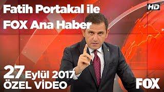 2018 ağır vergi yüküyle başlayacak! 27 Eylül 2017 Fatih Portakal ile FOX Ana Haber