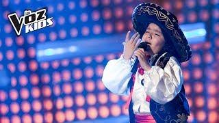 Paula Henao canta La Mugrosita - Audiciones a ciegas | La Voz Kids Colombia 2018