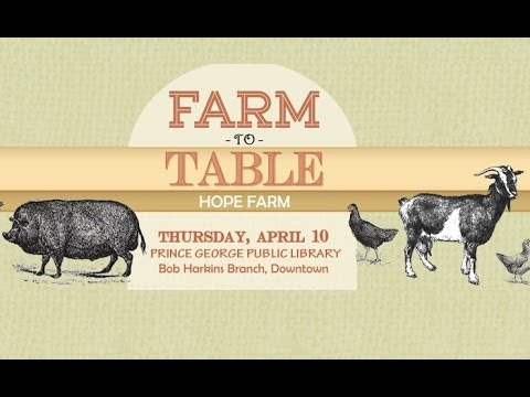 Farm to Table - Andrew Adams