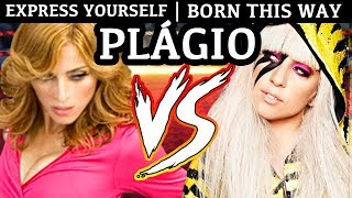 MADONNA vs LADY GAGA | Plágio