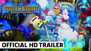 Ghosts 'n Goblins Resurrection Nintendo Switch Trailer