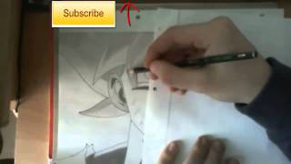 HOW TO DRAW SON GOKU SSJG dragonball z battle of gods