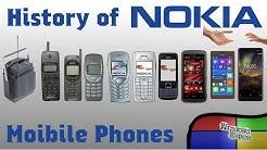 HISTORY OF NOKIA PHONES [1982-2019]