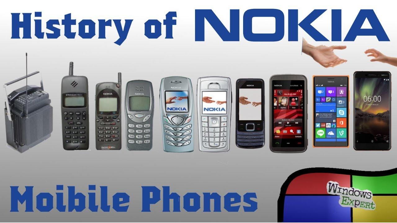 HISTORY OF NOKIA PHONES [1982-2019] - YouTube