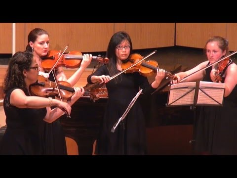 Grieg String Quartet No 1 in G minor - Edvard Grieg - The Academy of Chamber Music Performance