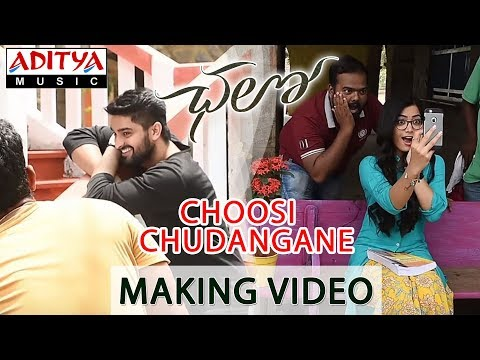 Choosi Chudangane Making Video || Chalo Movie || Naga Shaurya, Rashmika