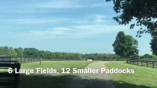 Kentucky Horse Farm Training and Foaling Facility For Sale