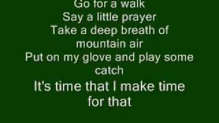 My List Toby Keith with lyrics