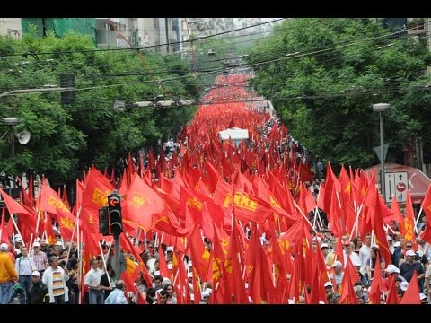 ΚΚΕ ☭ Communist Party of Greece [Polyushka Polye]