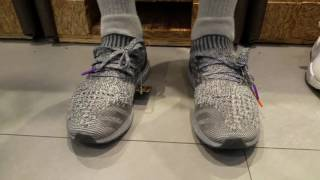 994eaf7105b33 Unboxing Latest Drop Release Adidas Ultra Boost Silver Pack Uncaged Plus On  Feet Full HD 2 16 2017 - YouTube