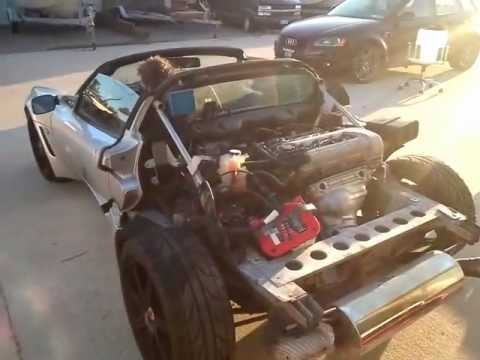 Removing Lotus Exige Rear Clam