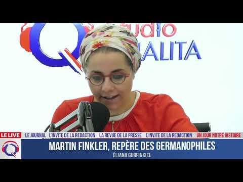 Martin Finkler, repère des germanophiles - Un jour notre Histoire du 7 juillet 2021