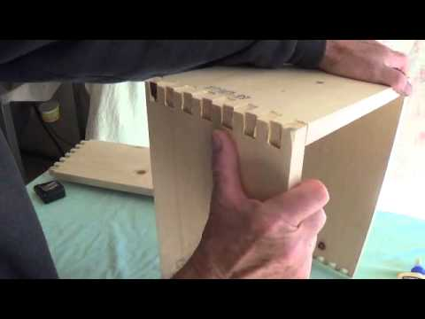 Constructing a Finger-Jointed Pine Amplifier Cabinet.....Part 1 ...