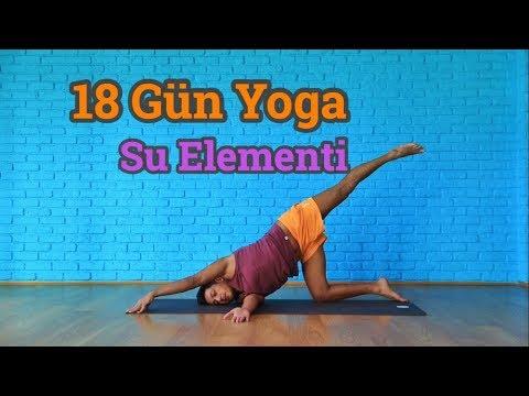 18 Gün Yoga Su Elementi | Fiziksel Ve Zihinsel Detoks (Her Seviyeye Uygun)