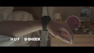 "HUF and G-Shock Present ""What"""