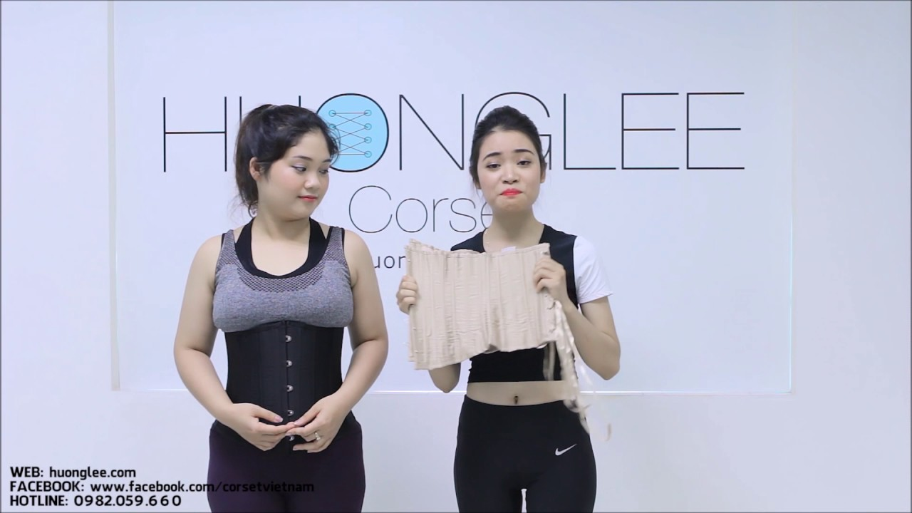 Đai nịt bụng Corset 24 xương thép của Huonglee Corset - Giảm eo & Giảm mỡ bụng