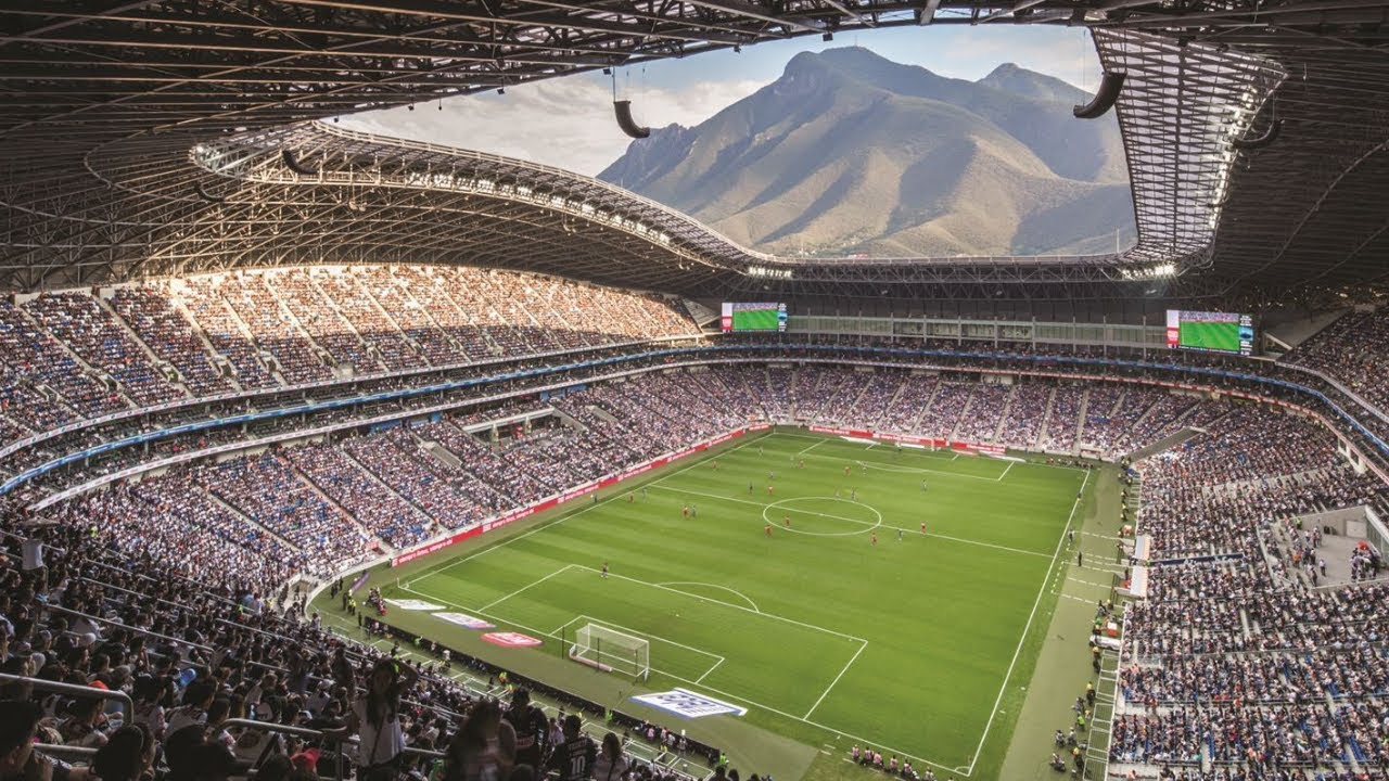 Estadio BBVA Bancomer - Club de Fútbol Monterrey - YouTube