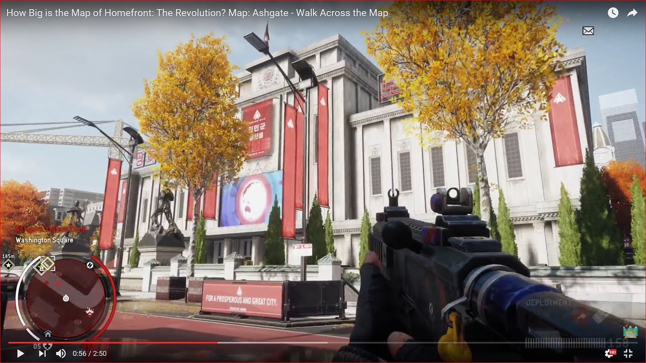 Map Size Homefront: The Revolution? Map: Ashgate - Walk Across the ...