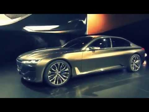 PREVIEW New 2016 BMW 7 Series @ Vision Future Luxury Concept Beijing Auto Show 2014