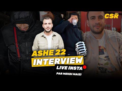 Youtube: Interview ASHE 22 en live insta par Mehdi Maizi
