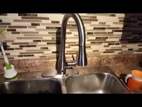 Biobide - Flow Motion Sensor Kitchen Faucet - YouTube